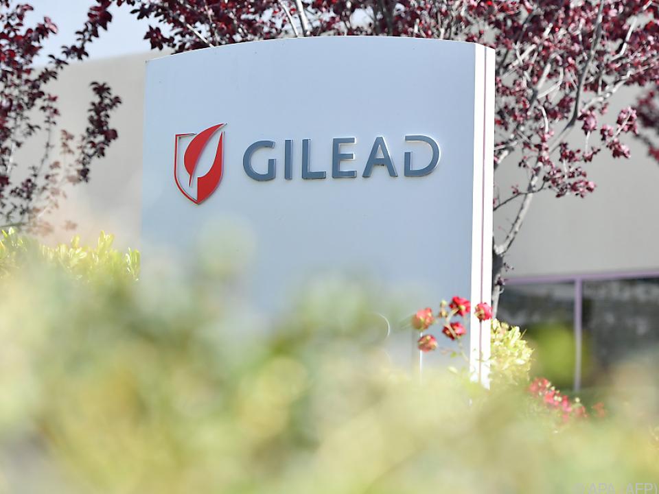 Pharmakonzern Gilead sucht Arzneimittelhersteller