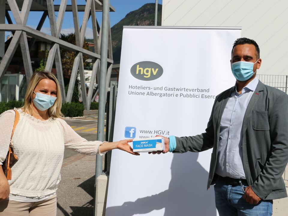 PM HGV verteilt Schutzmasken an Mitgliedsbetriebe