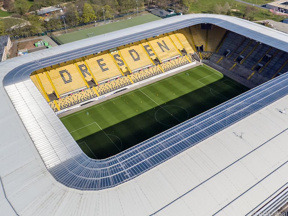 Quarantäne statt Stadion für Dynamo-Fußballer