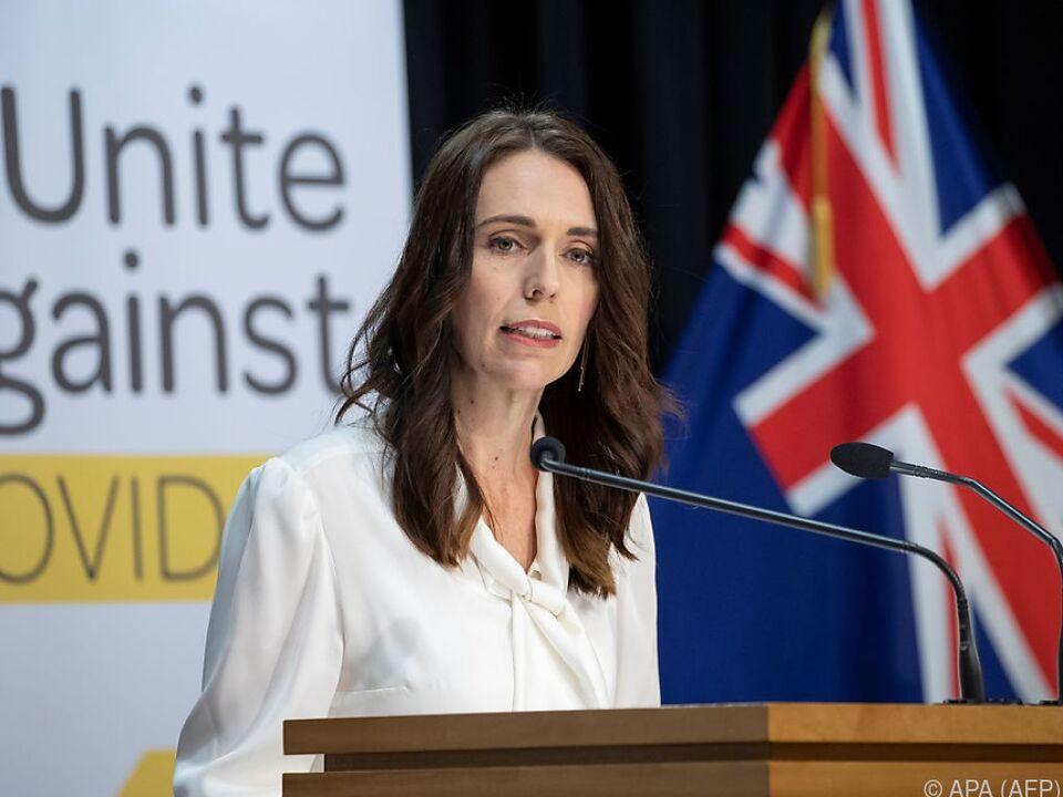 Regierungschefin Jacinda Ardern bewirbt die 4-Tage-Woche