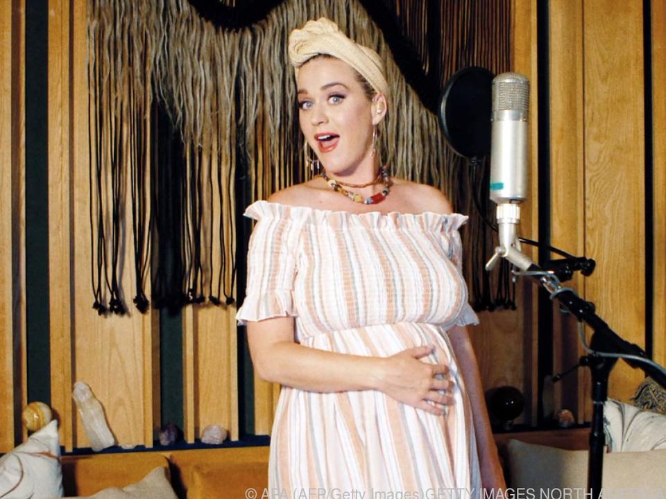 Sängerin Katy Perry freut sich schon auf ihr Kind