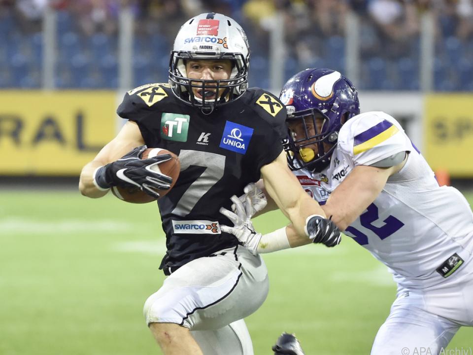 Sandro Platzgummer will bei NFL-Auftakt dabei sein