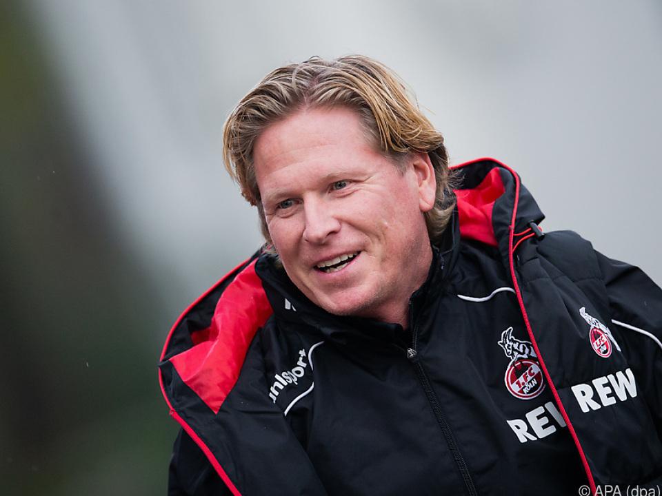 Schlechte Nachrichten für Köln-Trainer Markus Gisdol