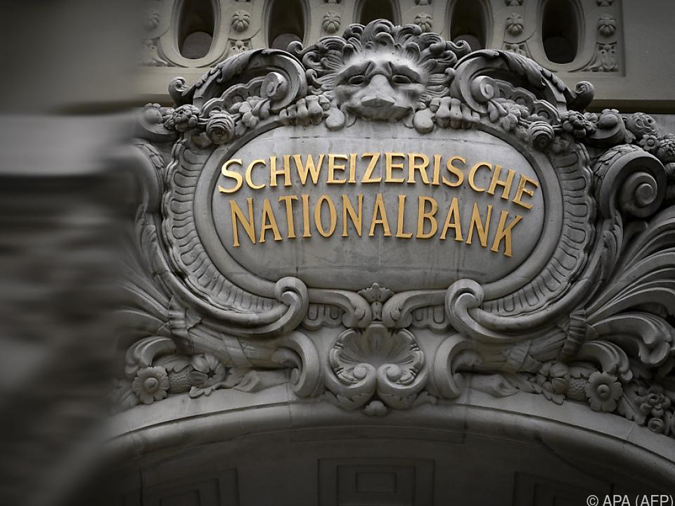 Schweizerische Nationalbank und der starke Franke