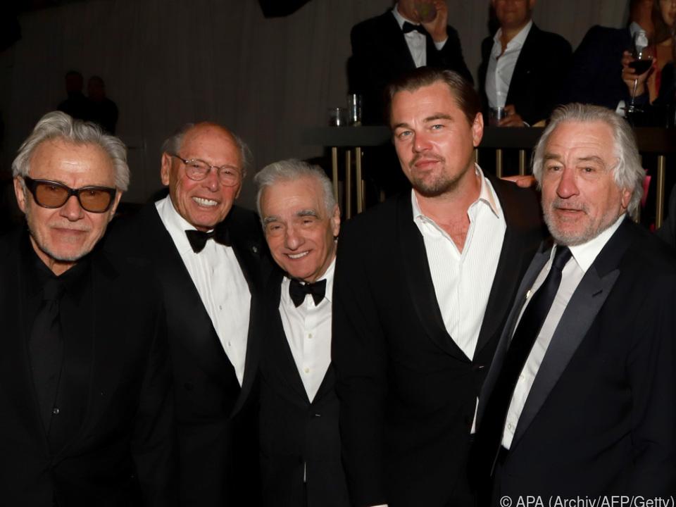 Scorsese, DiCaprio und De Niro drehten zuletzt für Netflix