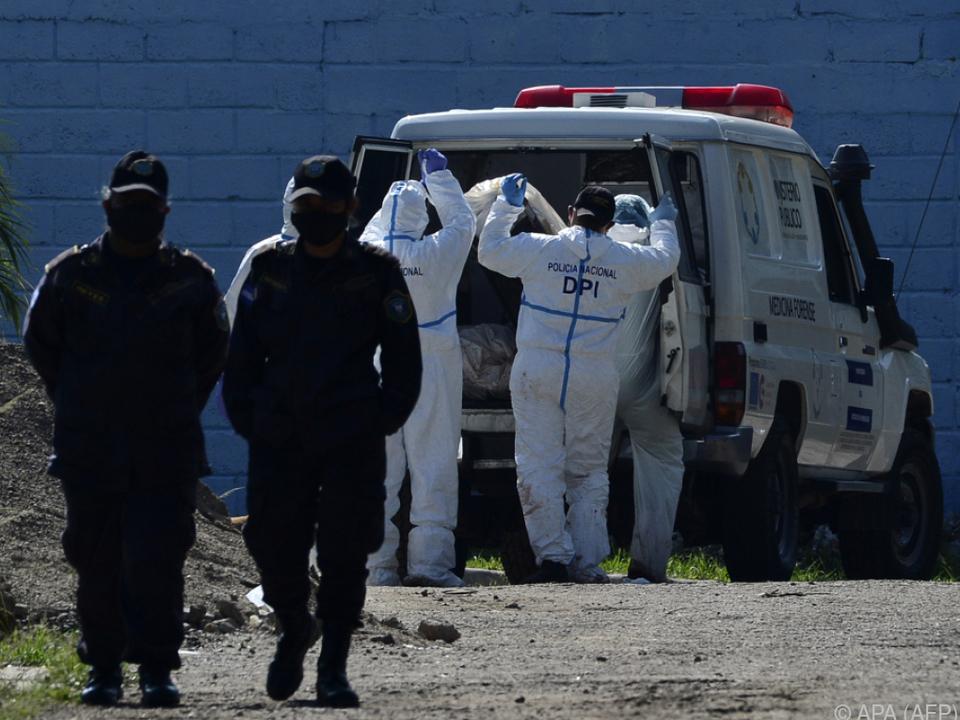 Sechs Frauen wurden in der Haftanstalt getötet