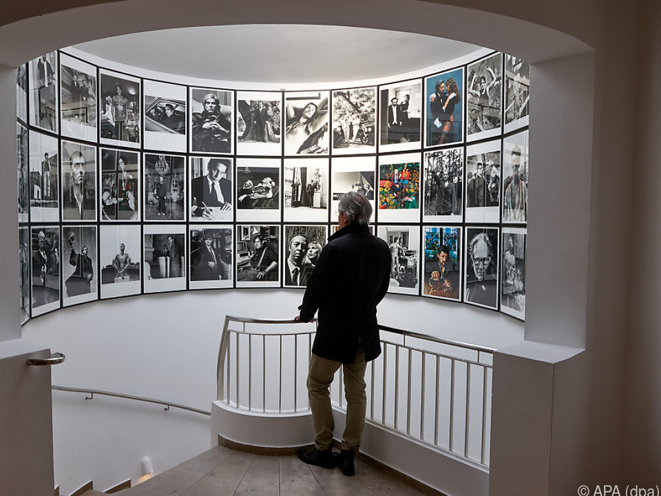 Sonderausstellung zum 100. Geburtstag von Fotograf Newton