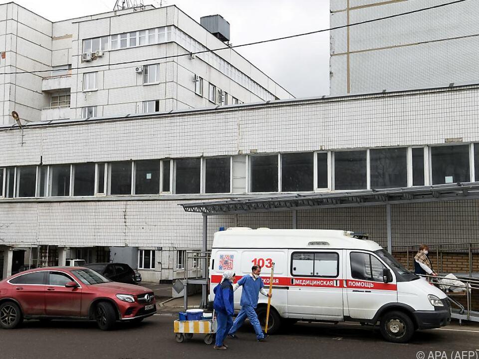 Spasokukotsi-Krankenhaus in Moskau
