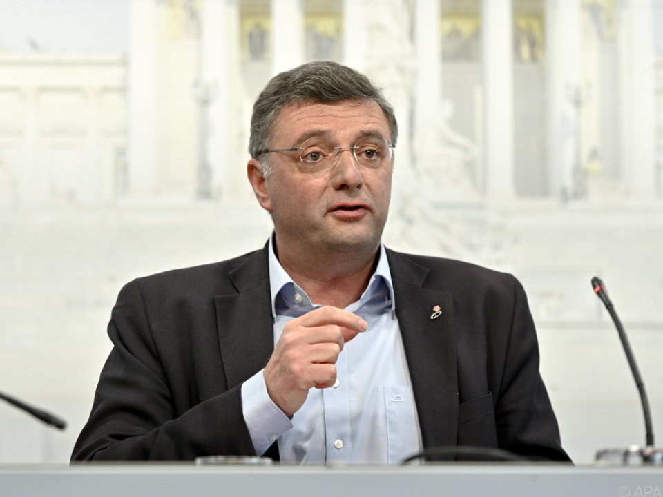 SPÖ-Vizeklubobmann Leichtfried kündigte Änderungsanträge an