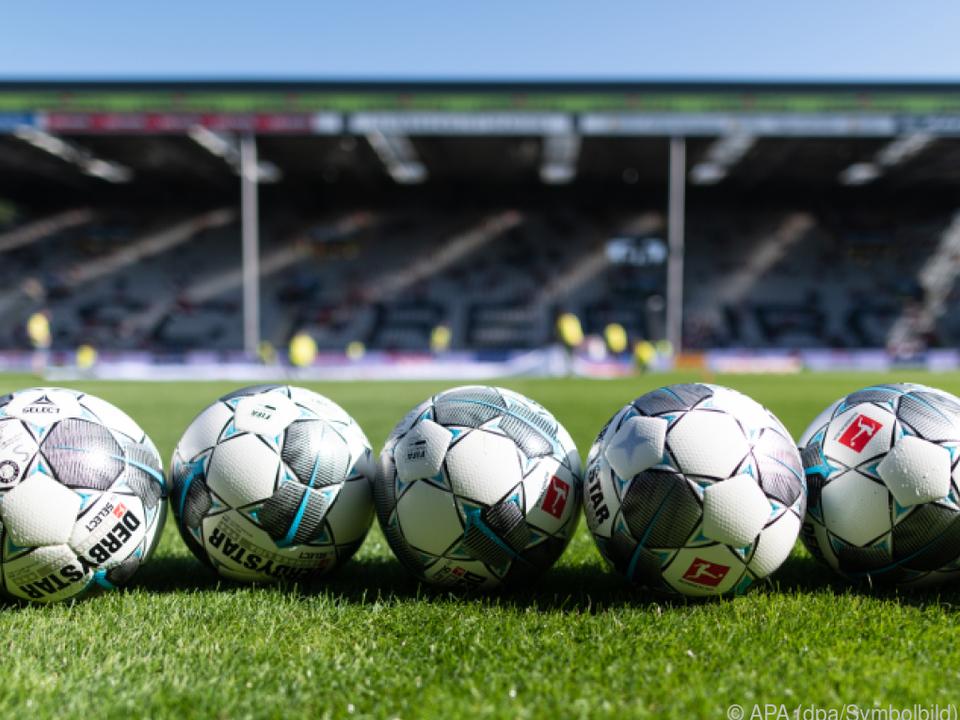 Start der Bundesliga für 15. Mai anvisiert