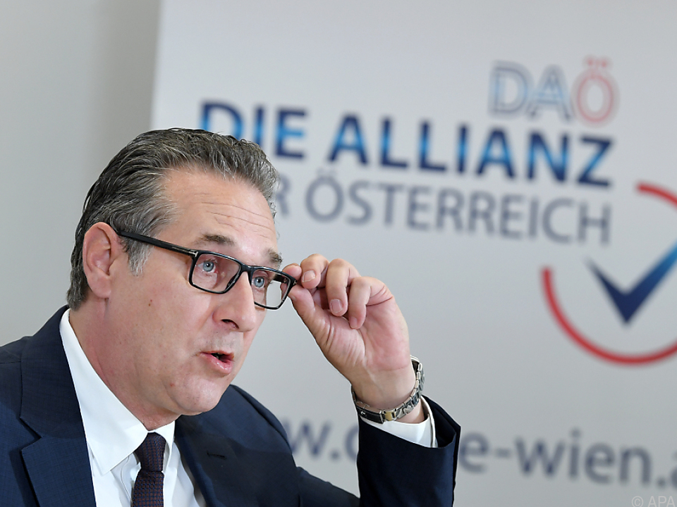 Strache macht sich bereit für den Wahlkampf in Wien