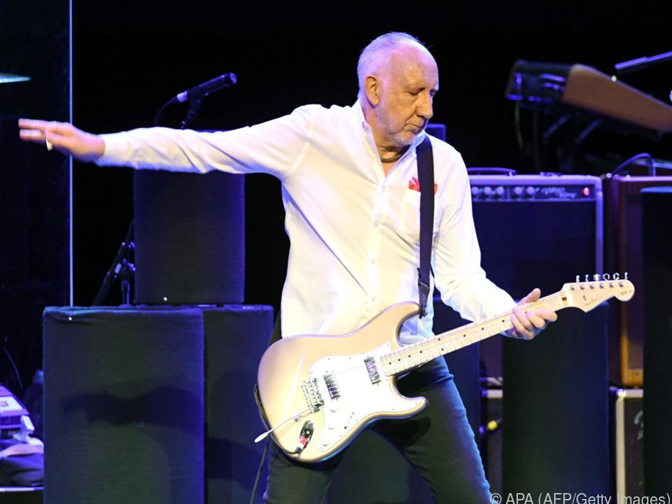 The-Who-Gitarrist Pete Townshend macht die \