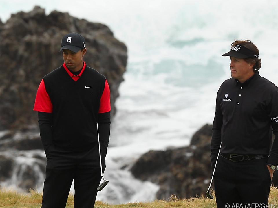 Tiger Woods und Phil Mickelson spielen bald wieder
