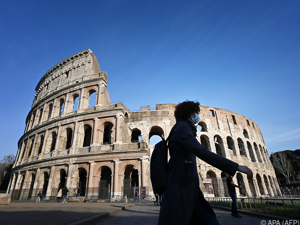 Tourismus findet in Italien derzeit kaum statt