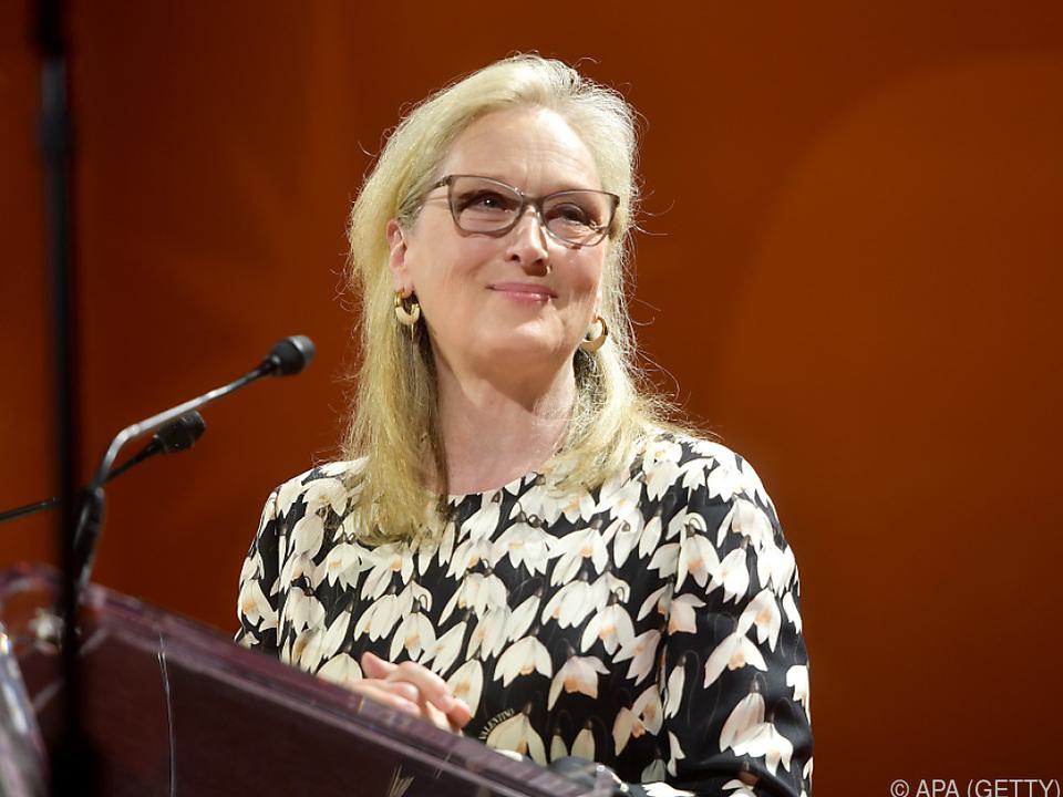 Unter den Stars ist auch Meryl Streep