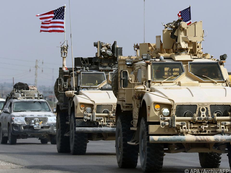 US-Militär auch im Irak im Einsatz
