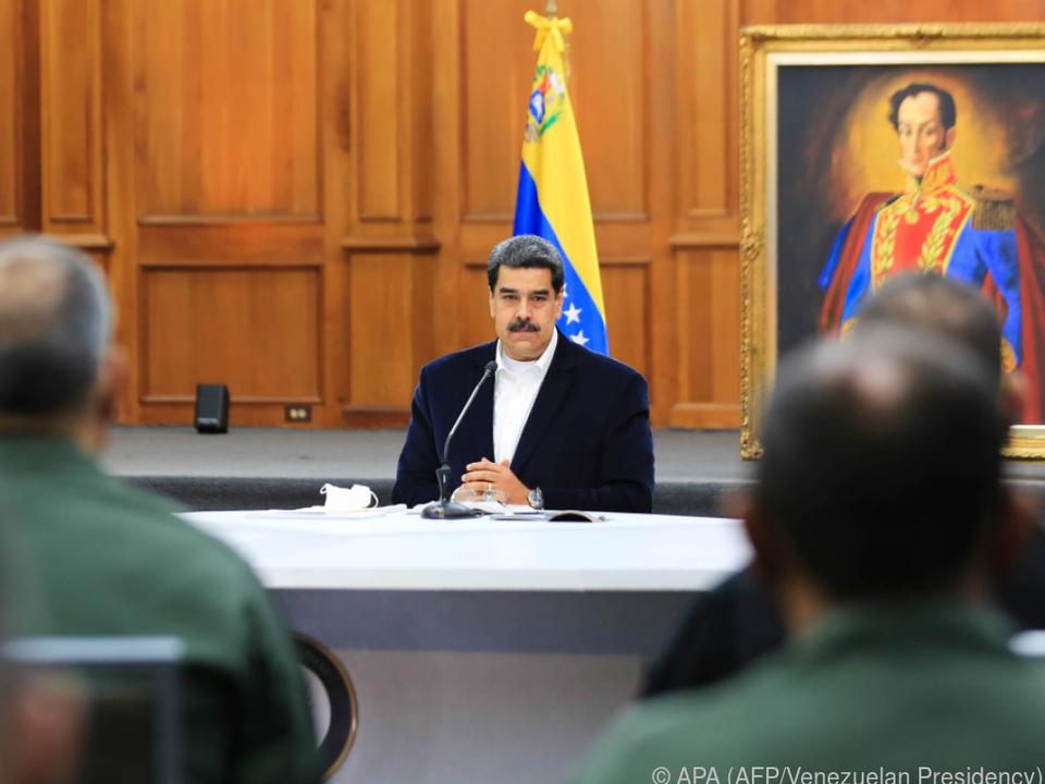 Venezuelas Staatschef spricht von einer versuchten \