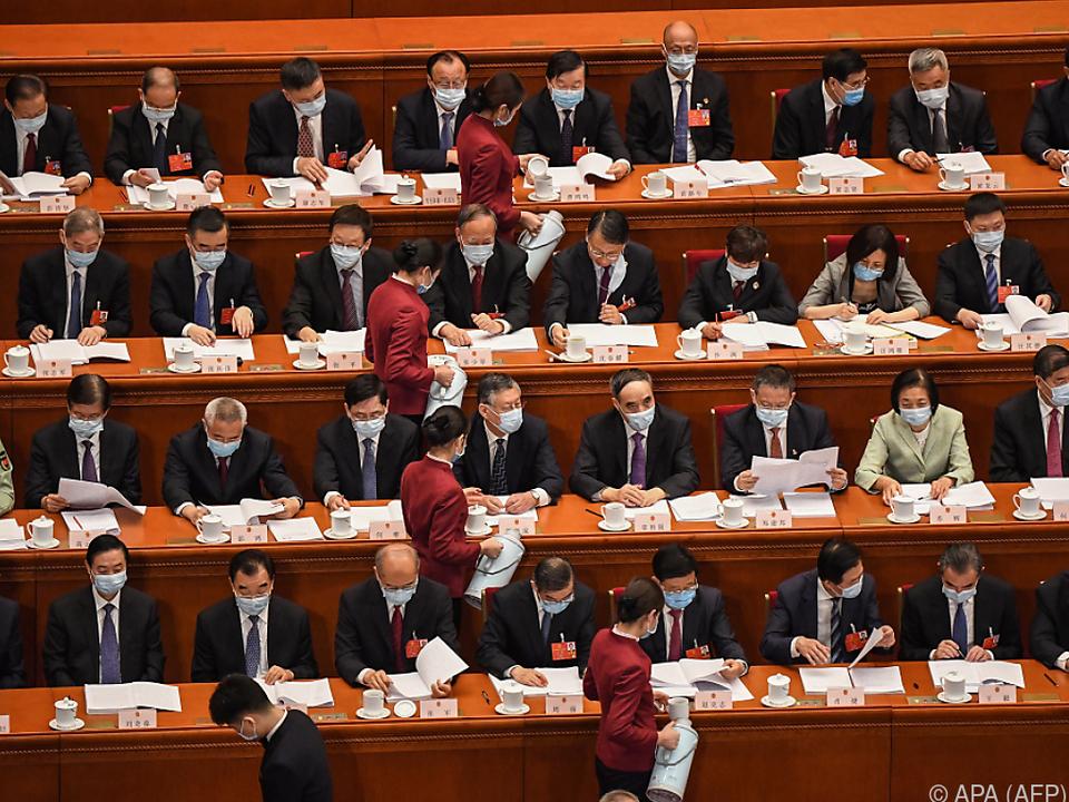 Volkskongress in China eröffnet