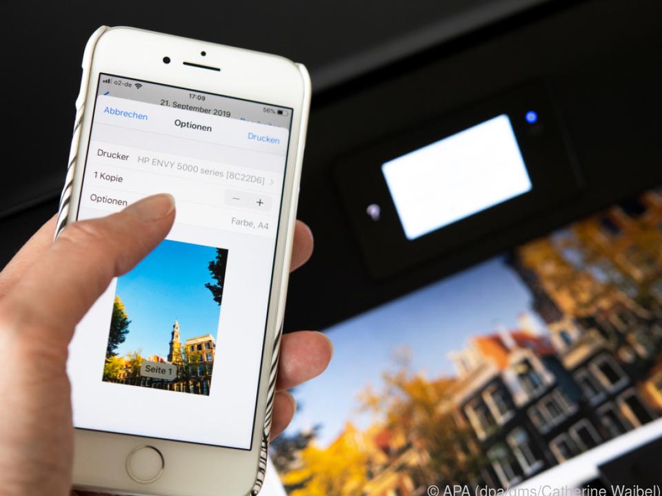 Vom iPhone zum Drucker - Apples Aiprint macht es möglich