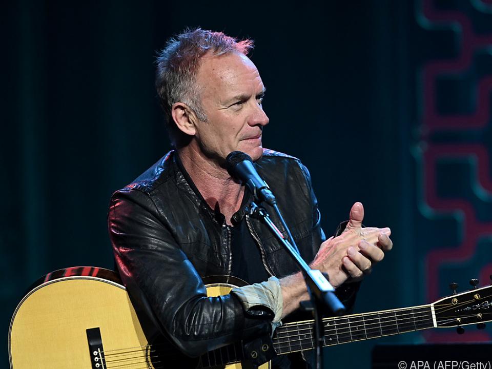 Wer würde nicht gern mit Sting musizieren?