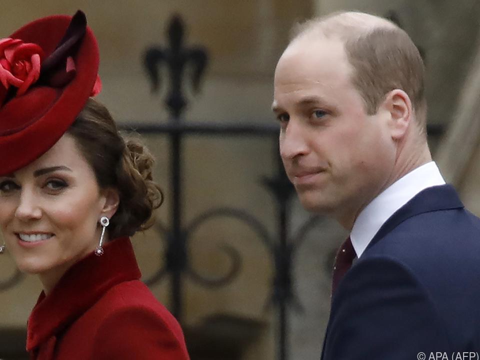 William hatte bei der Geburt seiner Kinder überwältigende Gefühle