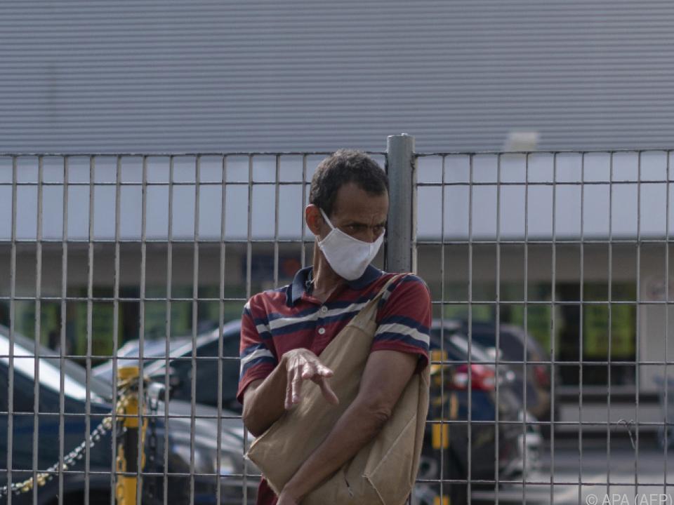 Zahl der Infizierten und Toten in Brasilien steigt