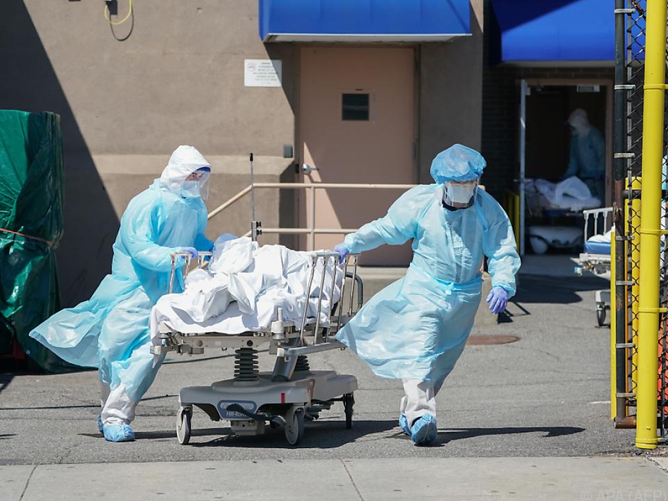 Zahl der Toten in den USA steigt weiter