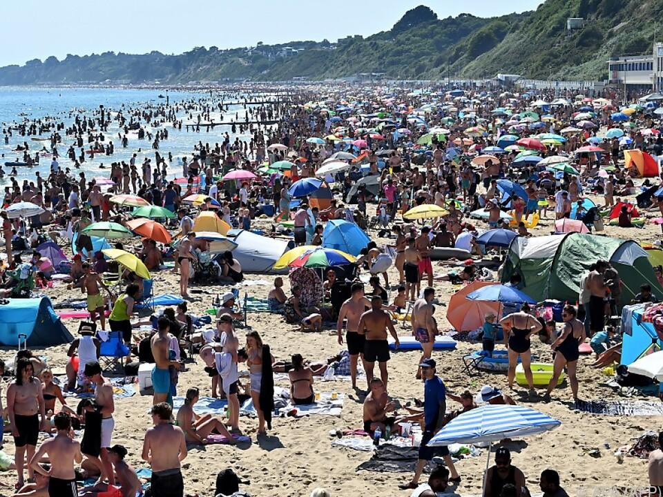 Abstand wurde in Bournemouth wahrlich nicht eingehalten