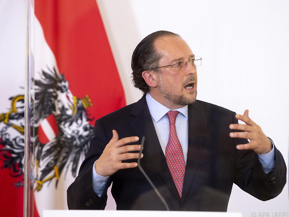 Alexander Schallenberg lädt Amtskollegen nach Wien