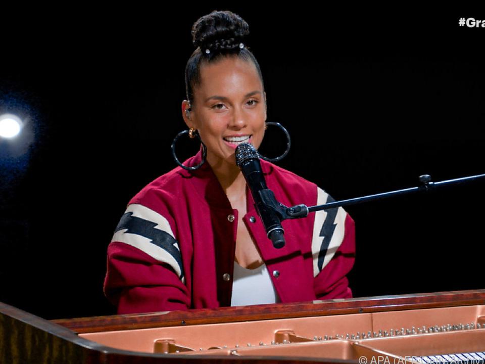 Alicia Keys in ihrem Element
