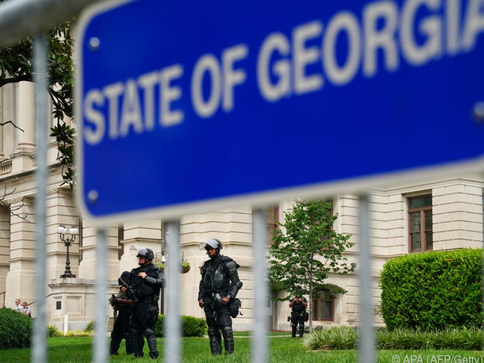 Auch in Atlanta hatte die Tötung durch einen Polizisten Folgen