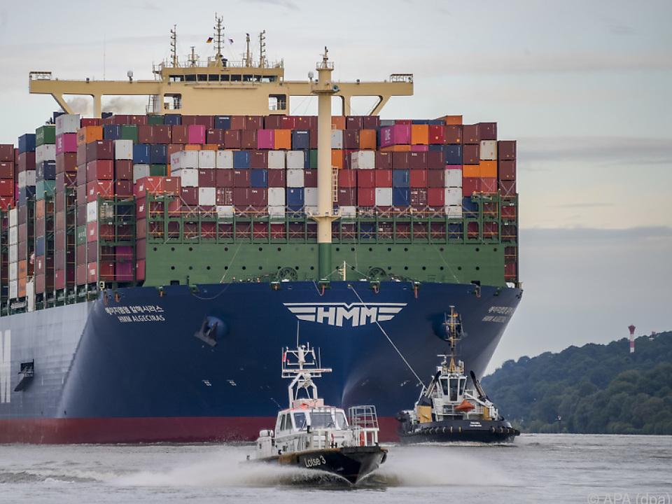 Aufregung im Hamburger Hafen