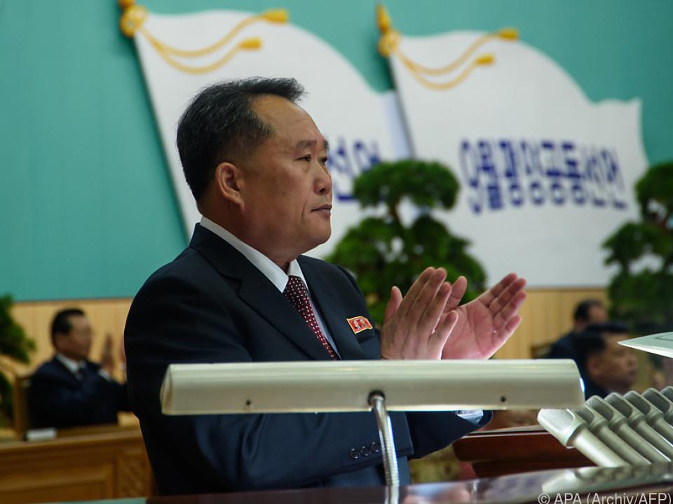 Außenminister Ri sieht keine Bemühungen der USA