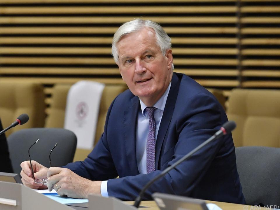 Barnier winkt ab