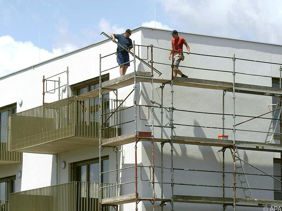 Bauwirtschaft im Vergleich weniger stark von Krise betroffen