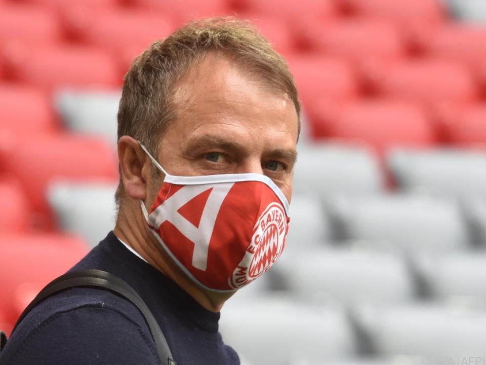 Bayern-Trainer Hansi Flick hat die ersten Titel im Visier
