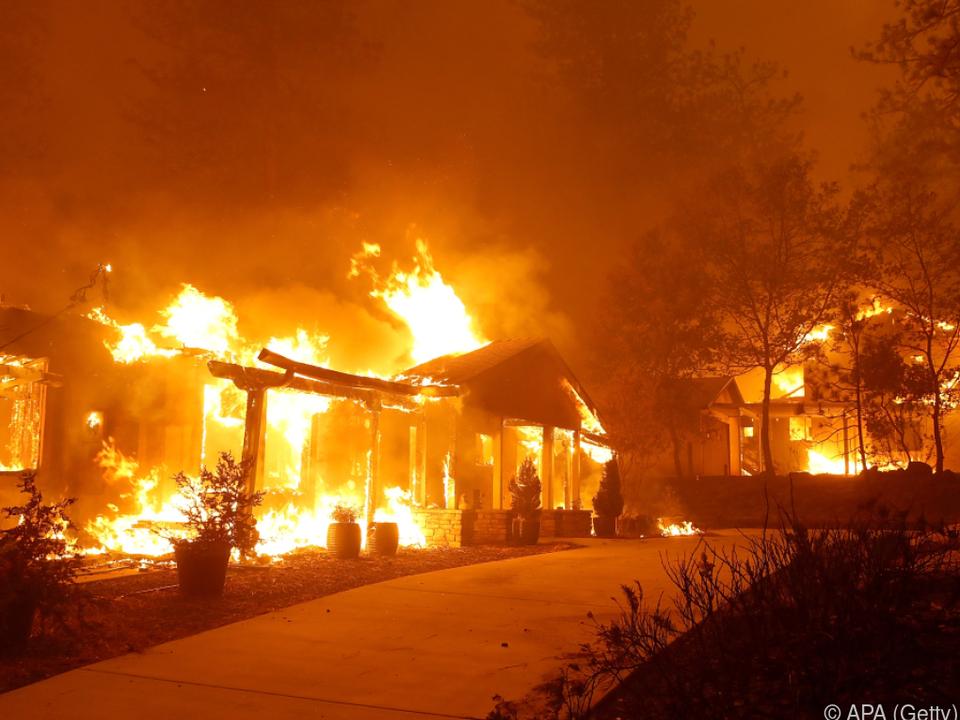 Bei den Bränden starben 84 Menschen