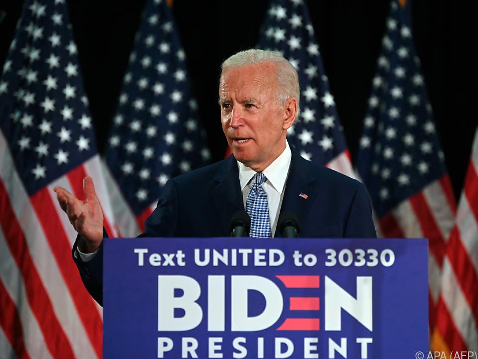 Biden will eine Kommission für Polizeireformen einsetzen