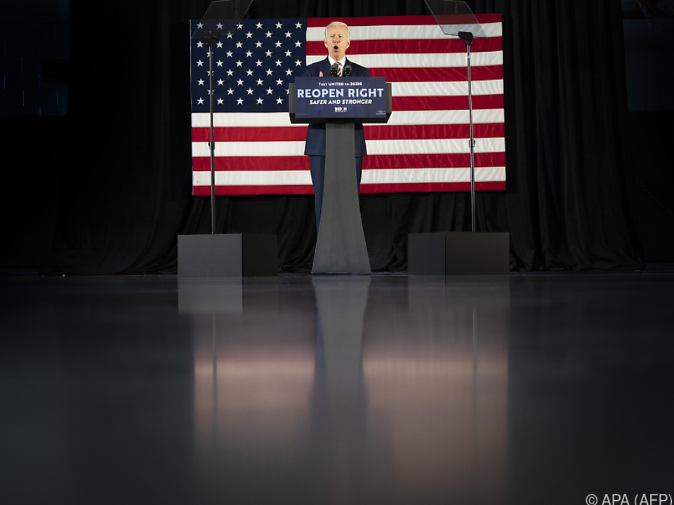 Biden wird von Ex-Präsident Barack Obama unterstützt