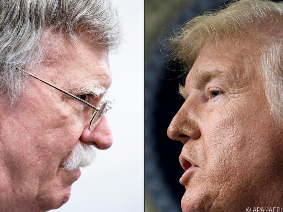 Bolton gegen Trump lautet das Match