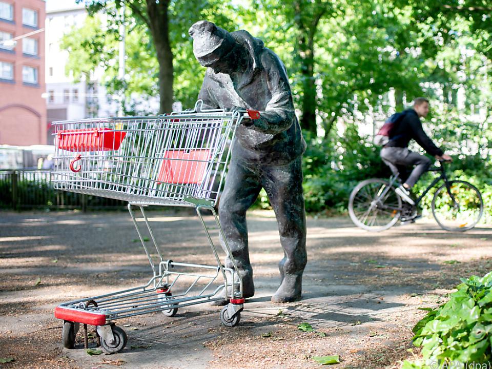 Bronzefigur in Bremen gibt Rätsel auf