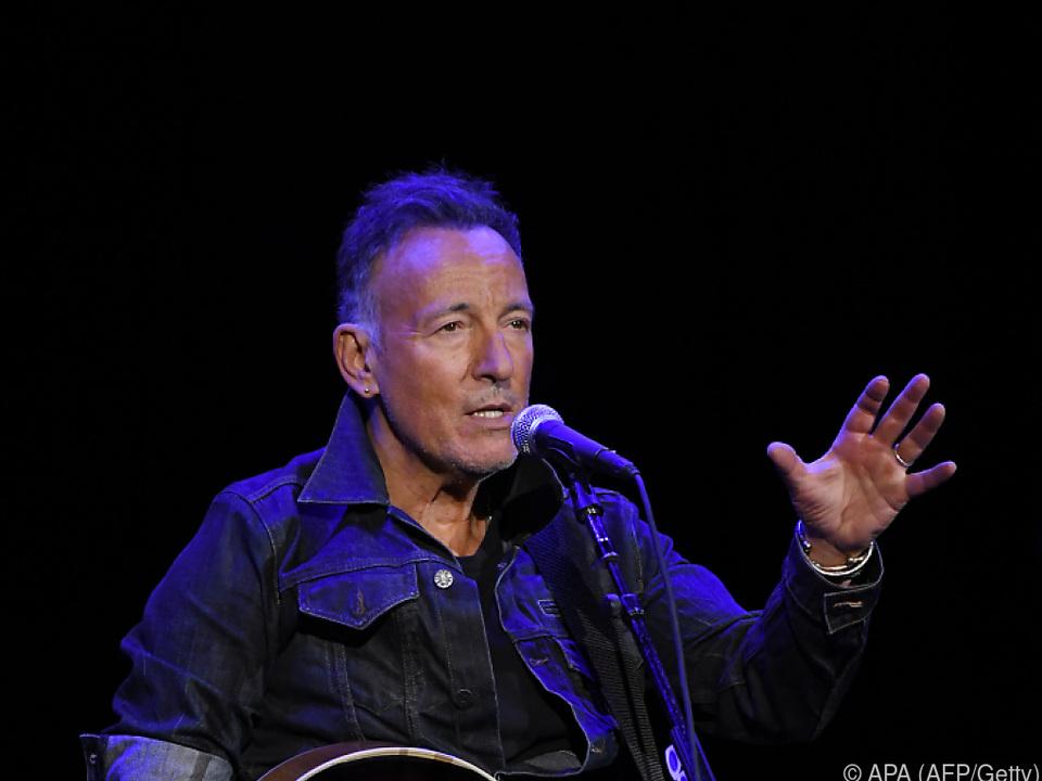 Bruce Springsteen mit Appell gegen Rassismus