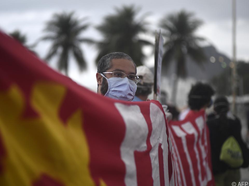 Coronavirus - Mehr als 58.000 Tote in Brasilien