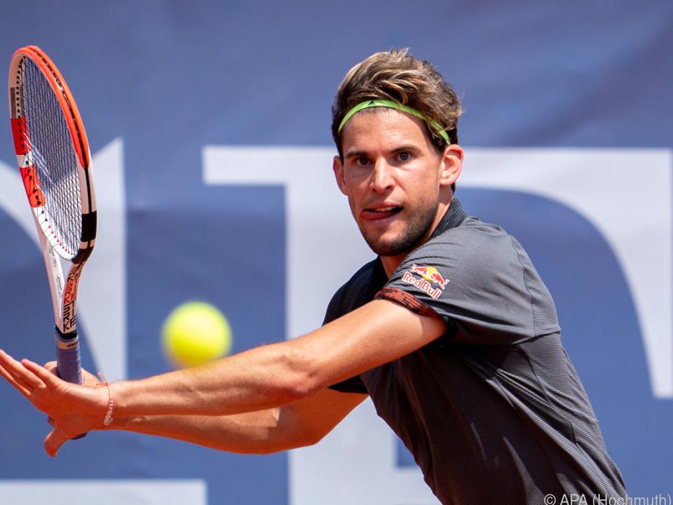 Das Davis-Cup-Finalturnier fällt für Dominic Thiem und Co. heuer aus
