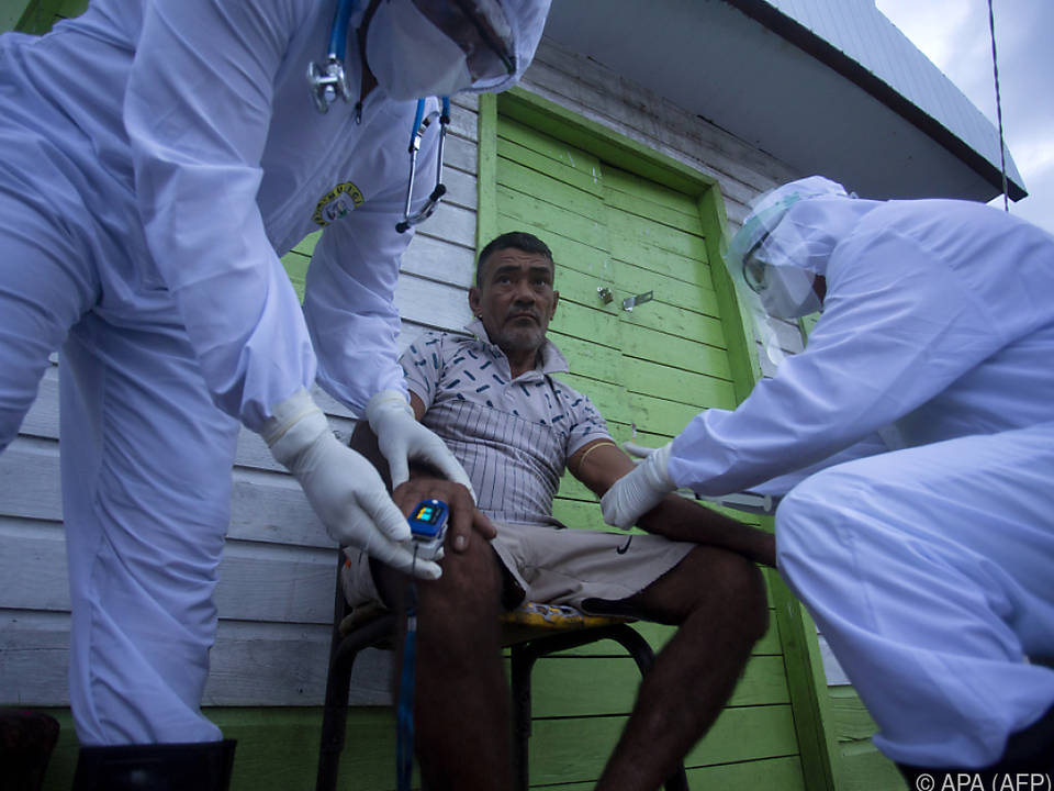 Das lateinamerikanische Land verzeichnet immer mehr Infektionen