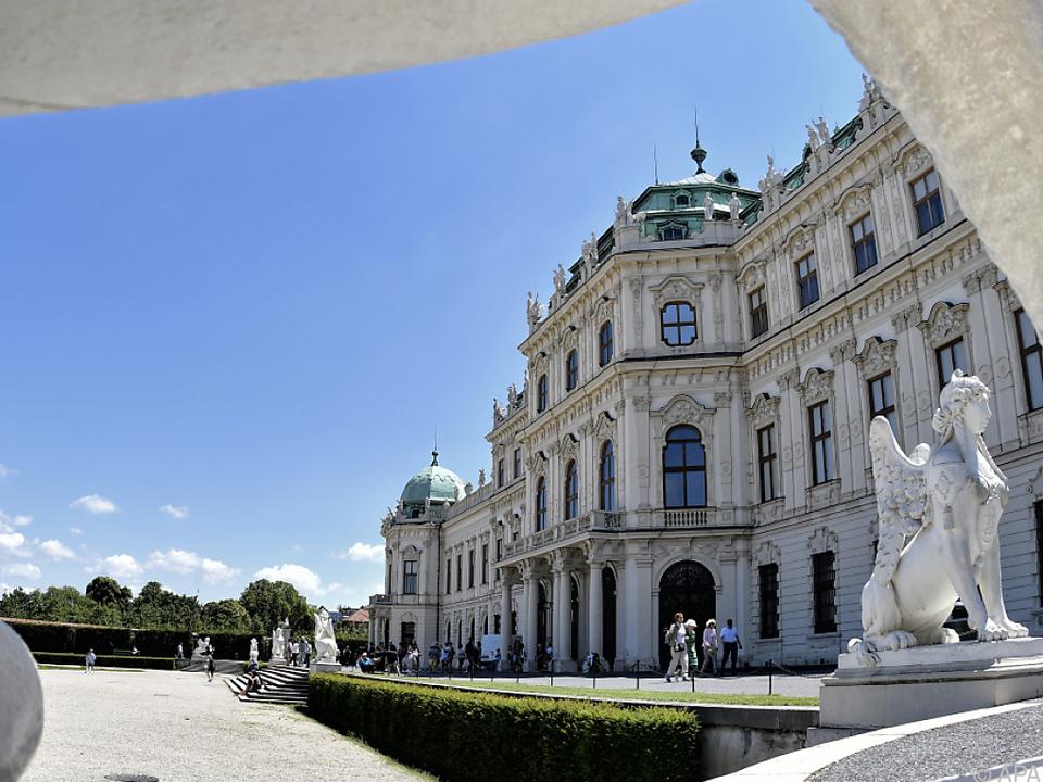 Das Obere Belvedere rechnet mit einem starken Besucherrückgang