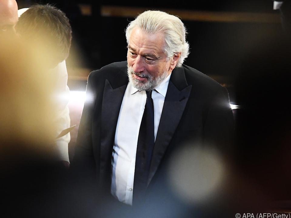 De Niro verlangt Veränderung