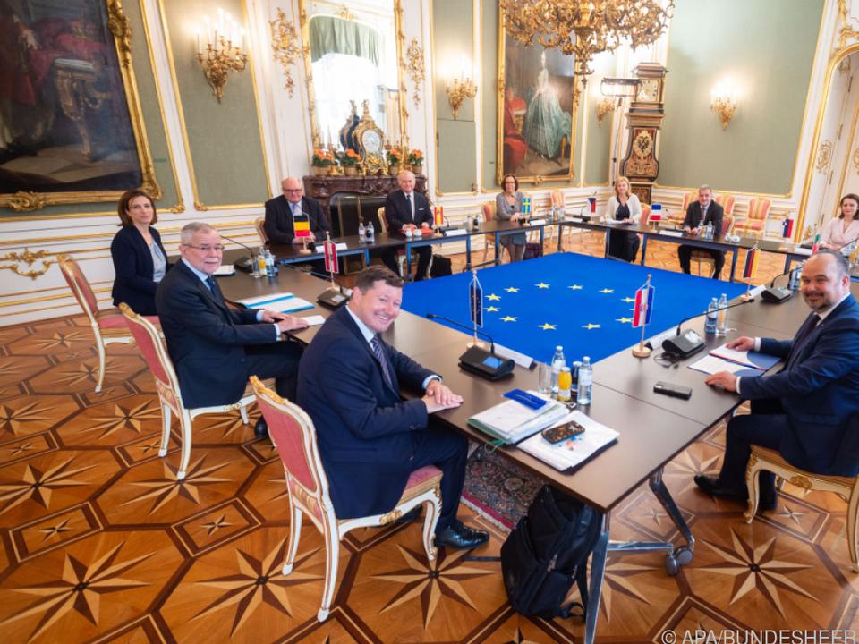 Der Bundespräsident will ein Zeichen für Zusammenarbeit setzen