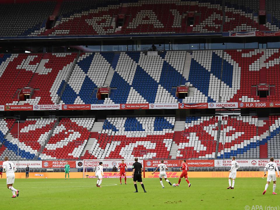 Der FC Bayern empfängt die Eintracht