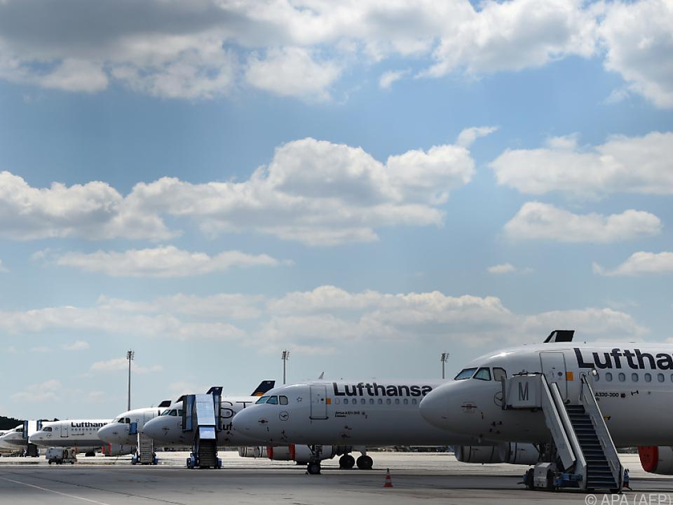 Der Luftverkehr ist seit März weitgehend lahmgelegt